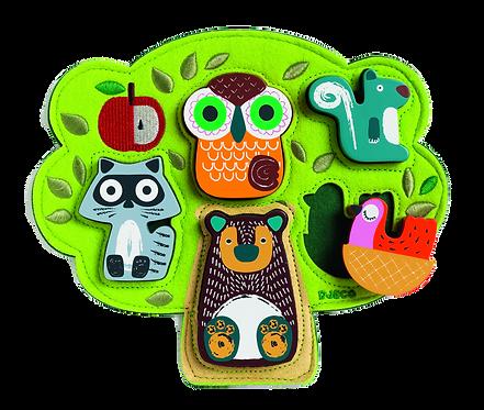 DJECO - Wooden puzzle Oski
