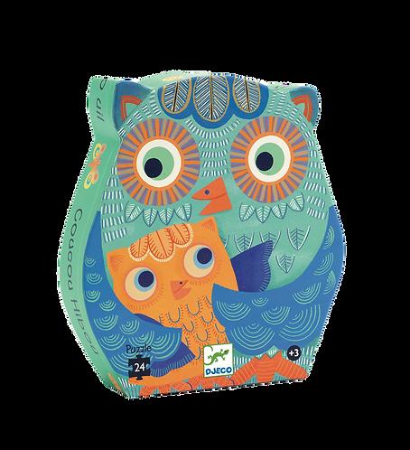Djeco - Silhouette Hello Owl