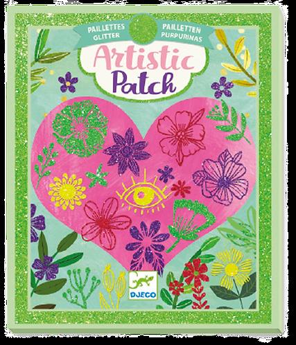Djeco - LGA Artist patch petals glitters