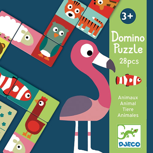 Djeco - First game Animo puzzle Domino