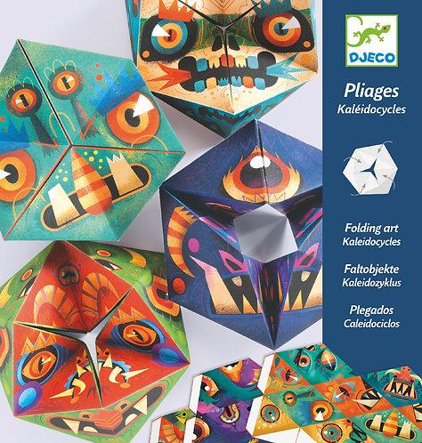 Djeco - PG origami flexmonsters