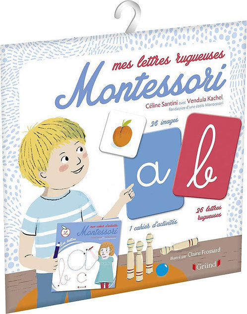Grund - Mes lettres rugueuses Montessori