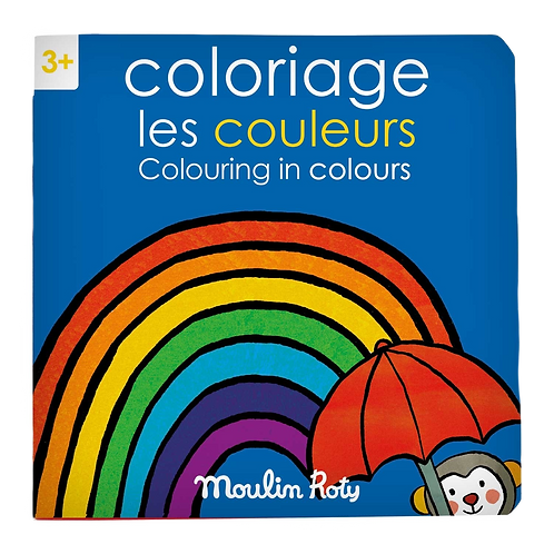 Moulin Roty - Colors coloring book