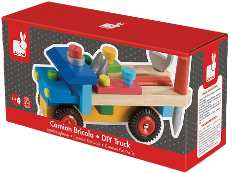 Janod - Brico'kids DIY truck