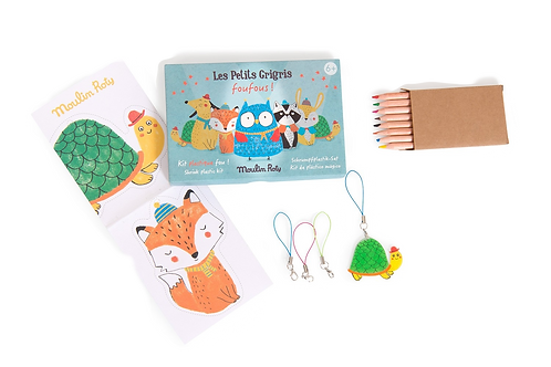 Moulin Roty - Shrinky dinks plastic kits