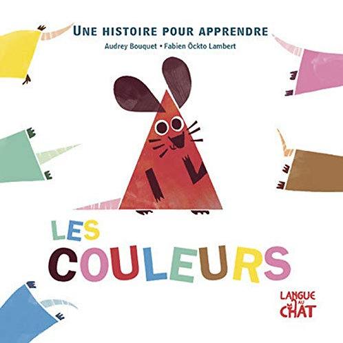 Langue Au Chat - Une histoire pour apprendre les couleurs