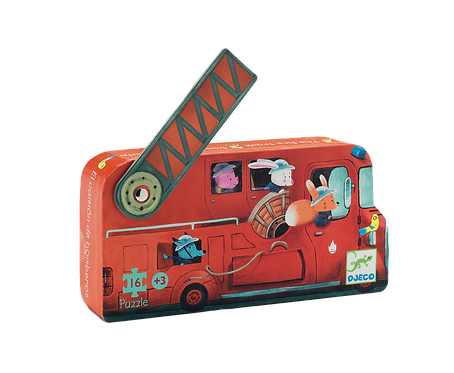 Djeco - Firetruck mini