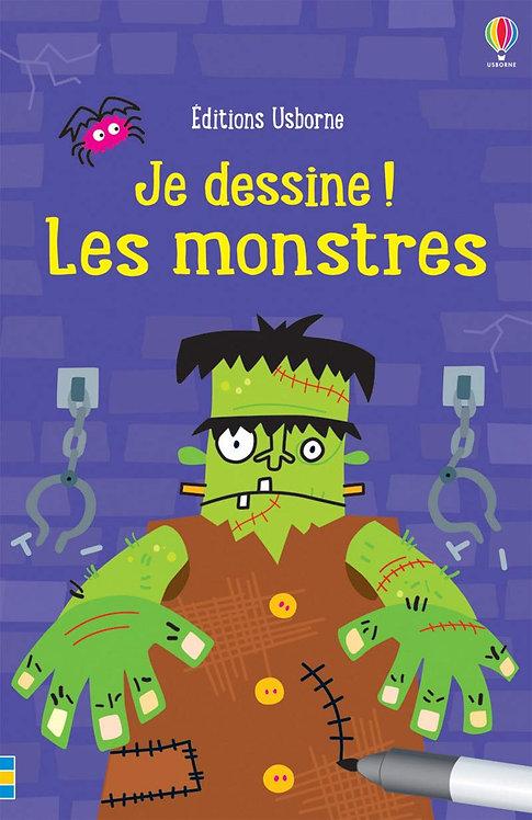 Usborne - Je dessine les monstres