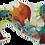 Thumbnail: Djeco - Giant Floor Leon the Dragon