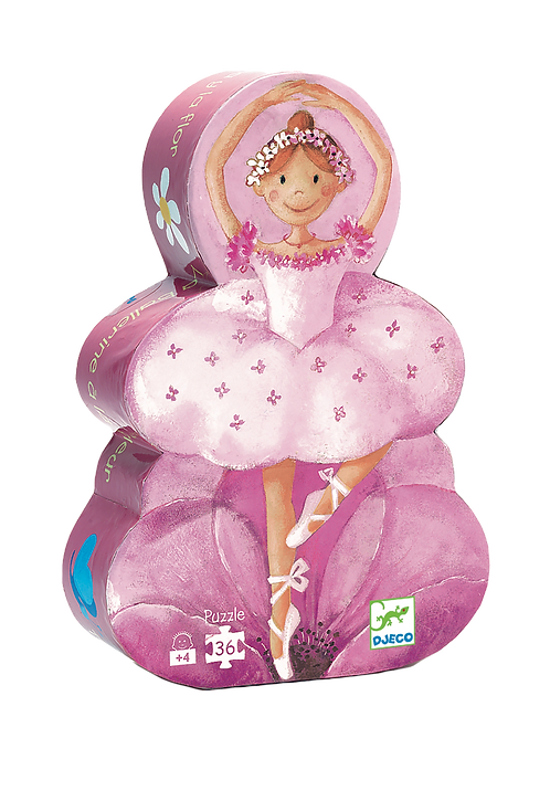 Djeco - Silhouette Ballerina Flower