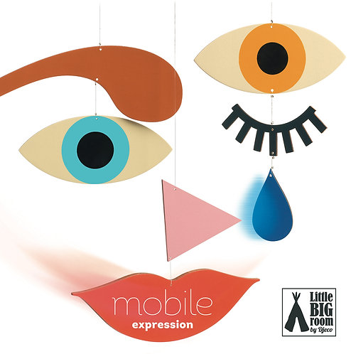 Djeco- Wooden mobile expression