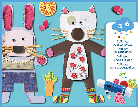 Djeco-collages for little ones