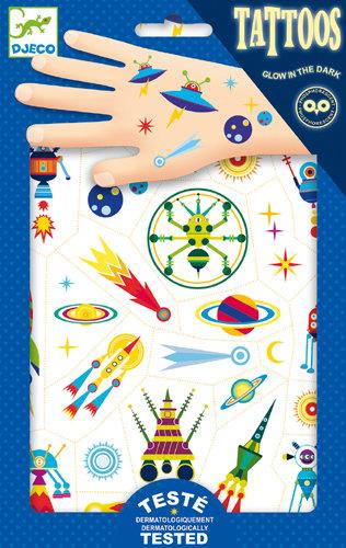 Djeco - Tattoos space oddity