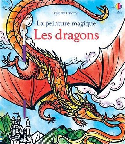 Usborne - Les dragons - La peinture magique