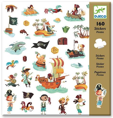 Djeco- PG Stickers pirates