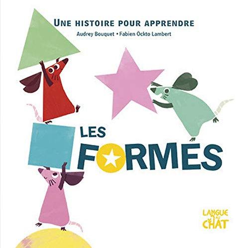 Langue Au Chat - Une histoire pour apprendre les formes