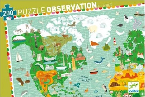 Djeco- Observation around the world