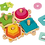 Thumbnail: JANOD - Wood stackable turtles - Wooden toy
