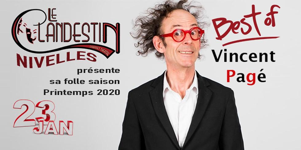 Le Clandestin de Nivelles présente sa saison avec Vincent Pagé