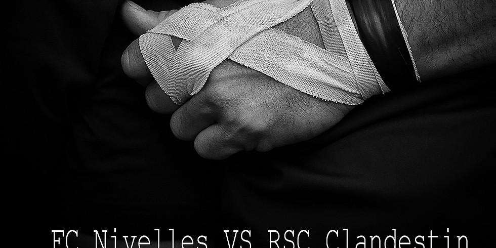 La Mêlée - Nivelles VS Clandestins - Impro - Match Retour