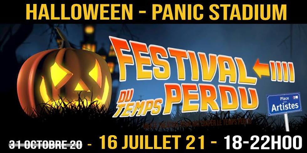 Festival du Temps Perdu - HALLOWEEN - Panic Stadium - Parcours Théâtral (16/07 à 18h)