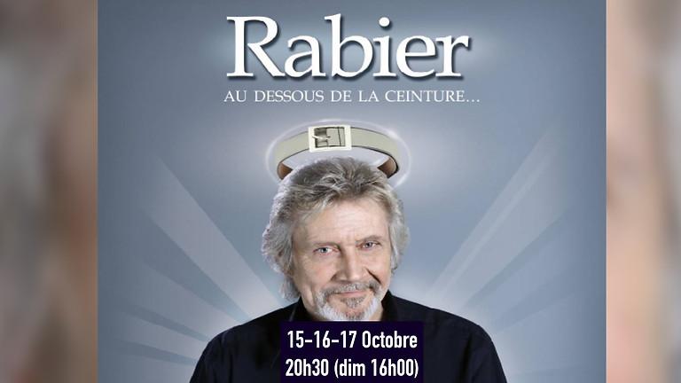 """Daniel Rabier - """"En dessous de la ceinture"""" - Humour - Le 15-10-2021 à 20h30"""
