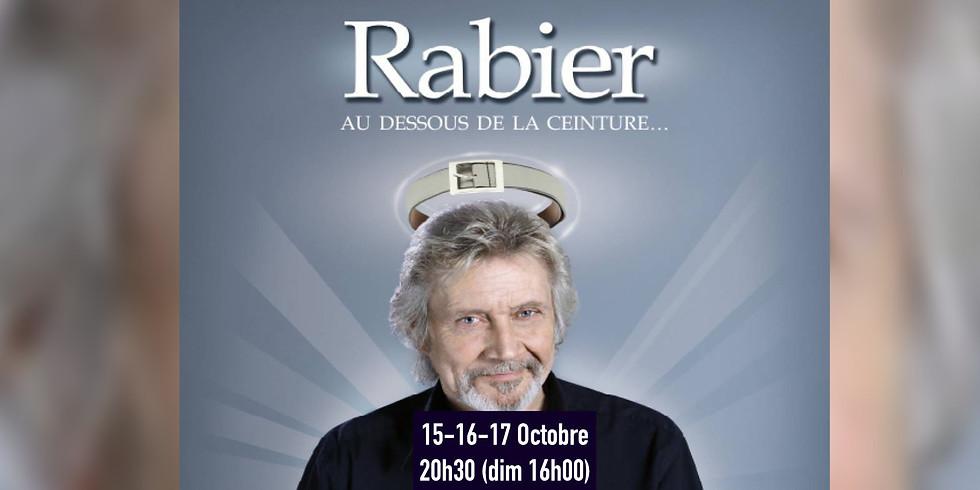 """Daniel Rabier - """"En dessous de la ceinture"""" - Humour - Le 17-10-2021 à 16h00"""