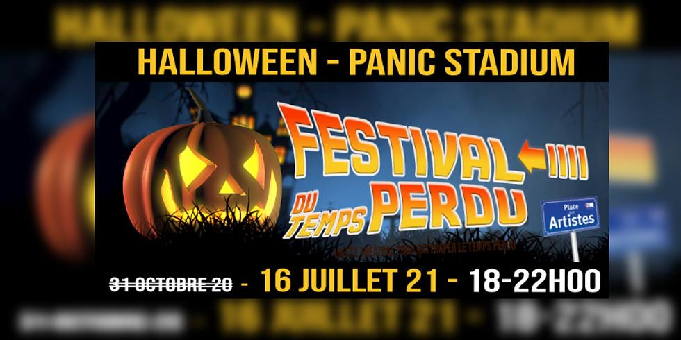 Le 16/07 à 21h00 - Festival du Temps Perdu - HALLOWEEN - Panic Stadium - Parcours Théâtral