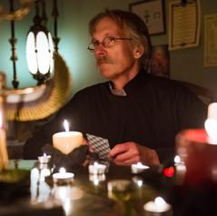 Dan Steere as Father Stewart Photo by Alyssa Meadows
