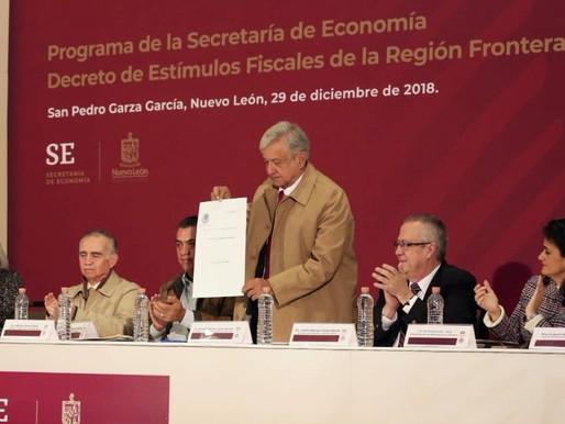Decreto de Estímulos Fiscales para la Región Fronteriza Norte