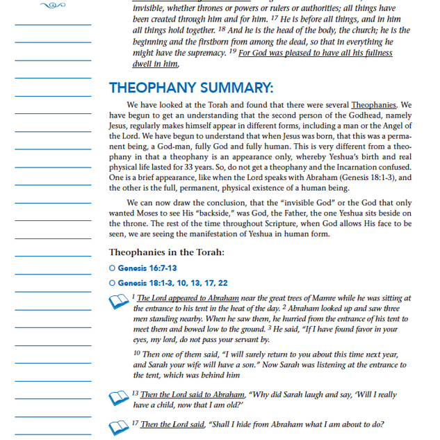 STUDY PAGE SAMPLE