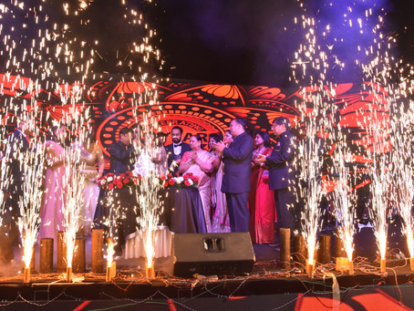 A Lavish 25th Wedding Anniversary Classily Styled by Plush Events