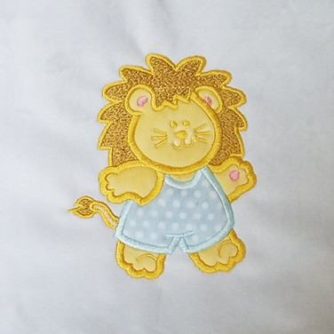 Double applique design by Adorable Ideas available at Embroiderydesigns.com