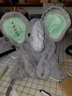 Large Elephant Green ears