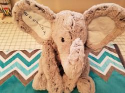 Large Elephant blue ears