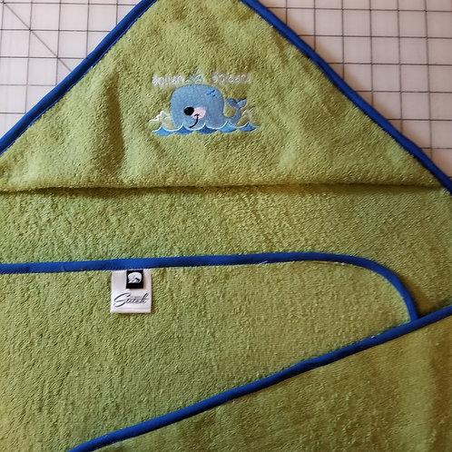 Hooded Terry Baby Bath Towel