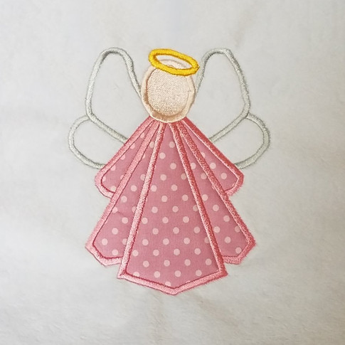 Angel Applique desing by Grand Slam designs available at Embroiderydesigns.com