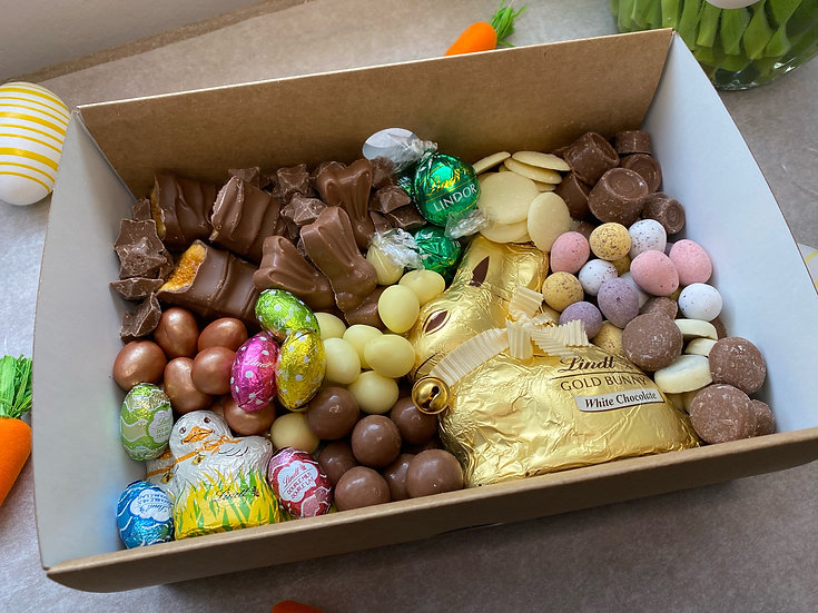 EASTER CHOCOLATE BOXES