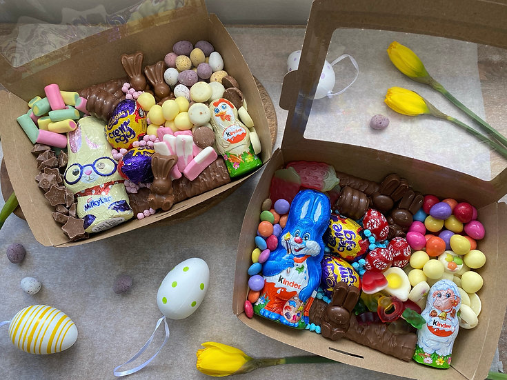 KIDS EASTER TREAT BOXES