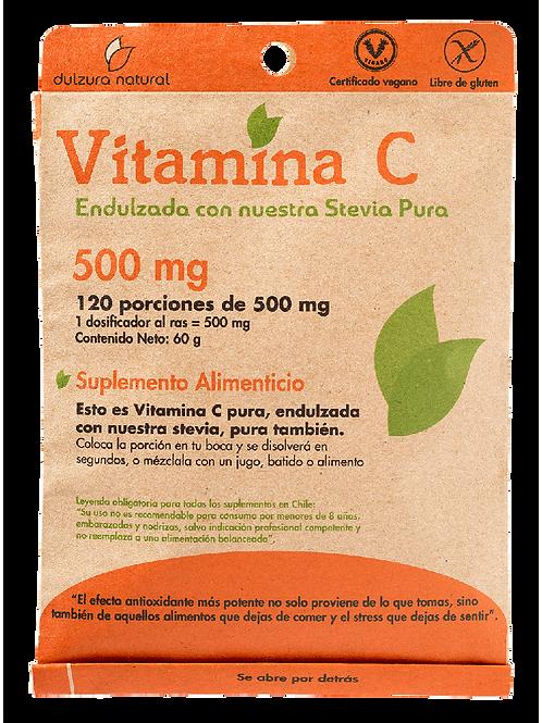 Vitamina C 120 porciones Dulzura Natural