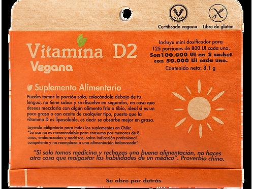 Vitamina D2 125 porciones Dulzura Natural