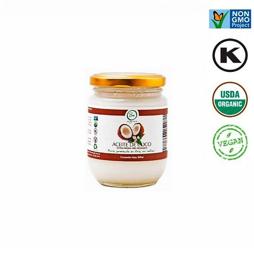 Aceite de Coco Organico BeOrganic 200ml