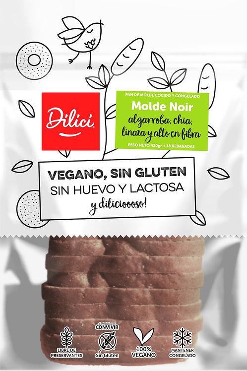 Pan de molde noir Dilici 430g.