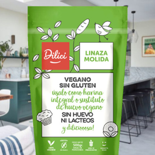 Linaza molida Dilici 500g.