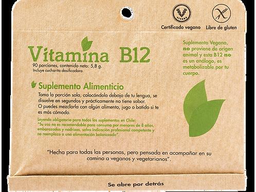 Vitamina B 12 90 porciones Dulzura Natural