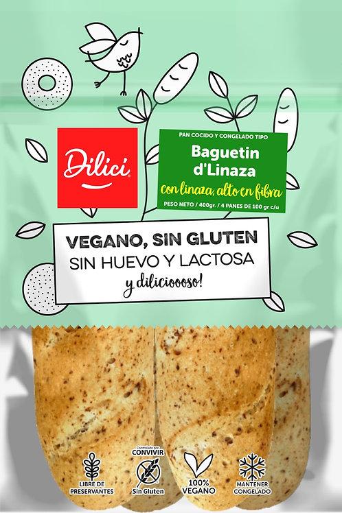 Baguetin d'Linaza Dilici 4 unidades
