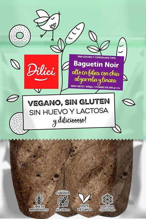 Baguetin Noir Dilici 4 unidades