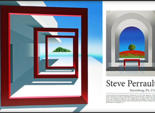 Steve Perrault published in Art Reveal Magazine #45