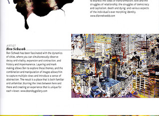 Two DDG artists featured in Art Houston Magazine!