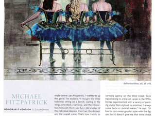 Southwest Art Magazine - Michael Fitzpatrick winner!
